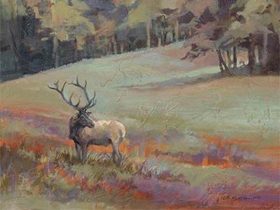 Elk Original by Vicki (McMillan) Hayes