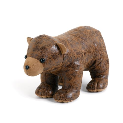 Faux Bear Doorstop