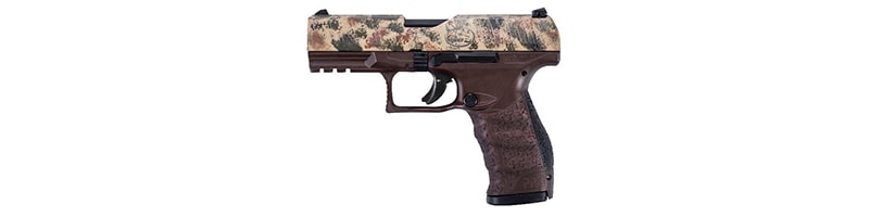 Walther PPQ M2, .45 RMEF Camo Slide