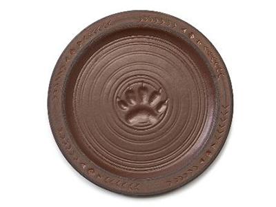 Maskwa Ridge Snack Plates, set of 4
